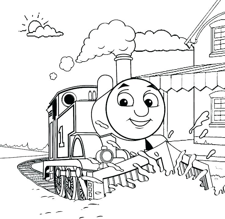 736x715 Free Coloring Pages Trains Free Train Coloring Pages Freight Train