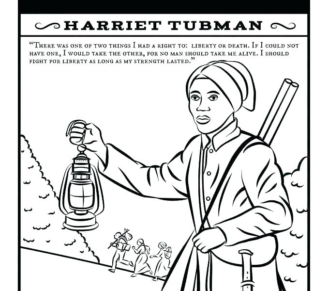 678x600 Underground Railroad Coloring Page Harriet Tubman Coloring Pages