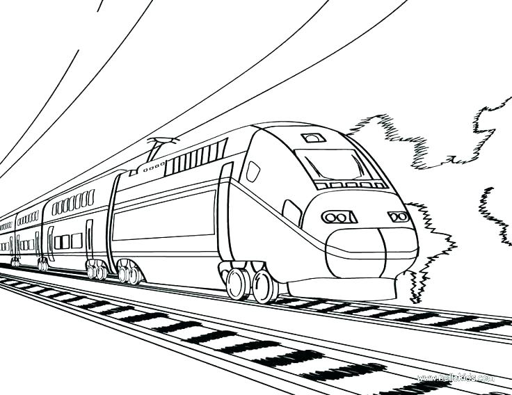 736x568 Coloring Page Train Coloring Pages Trains Coloring Pages