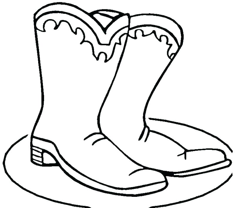 800x708 Boot Coloring Pages Rain Boots Colouring Pages
