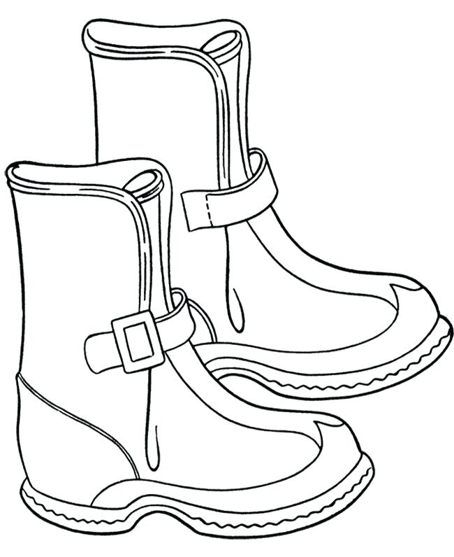 650x796 Boots Coloring Page Boots Coloring Pages To Download And Print