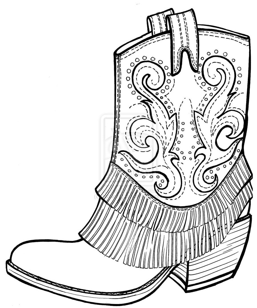 900x1080 Snow Boots Coloring Page Free Printable Pages For Kids Animals