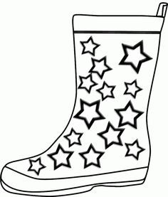 236x277 Winter Boots Large Coloring Page Dressing For Winter
