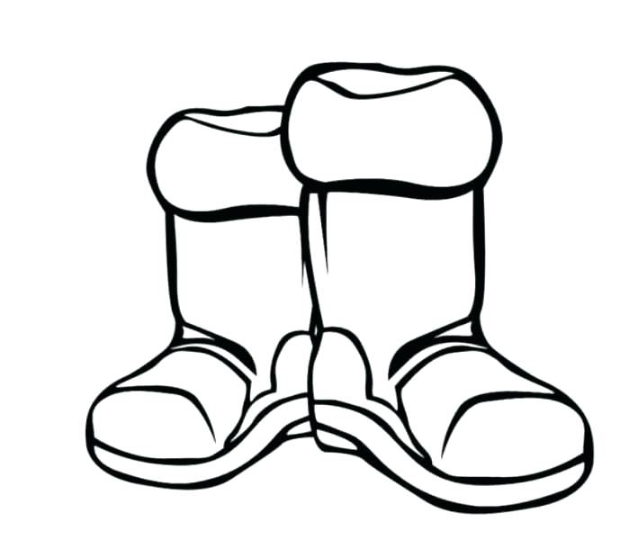699x610 Boot Coloring Page Cowboy Boots Coloring Pages Boots Coloring Page
