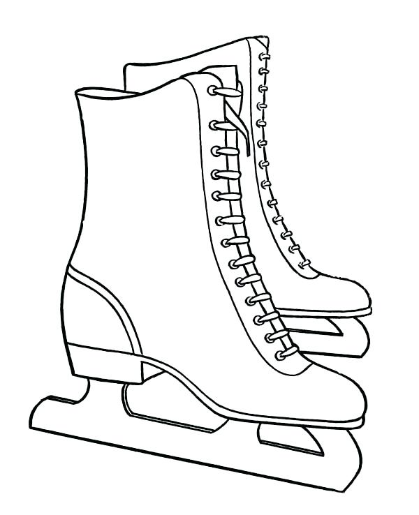600x738 Boot Coloring Page Cowboy Boots Coloring Pages Hats Coloring Pages
