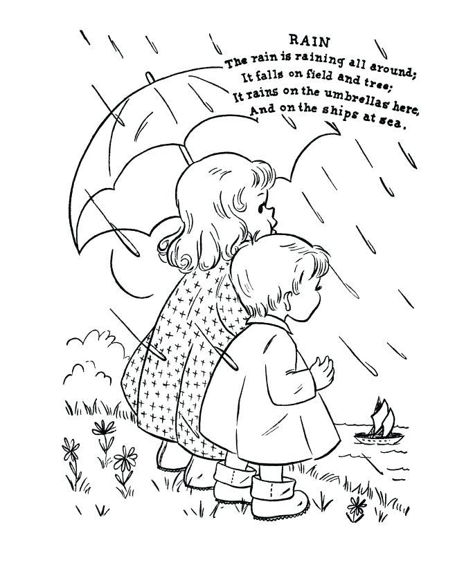 670x820 Rain Coloring Page Beautiful Rain Coloring Page Rain Coloring Page