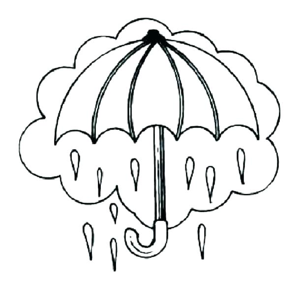 614x573 Rain Coloring Page Rain Coloring Sheet Large Coloring Pages