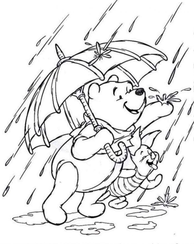 854x1073 Rain Coloring Page Unique Coloring Pages Rainy Day Az Coloring