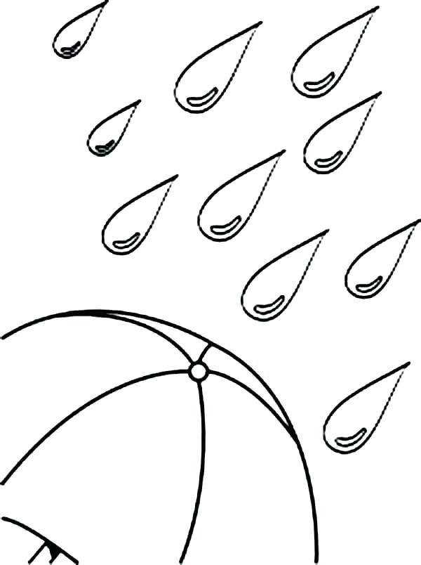 600x804 Rain Coloring Sheet Coloring Pages Weather Lightning Coloring