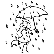 230x230 Top Free Printable Rain Coloring Pages Online