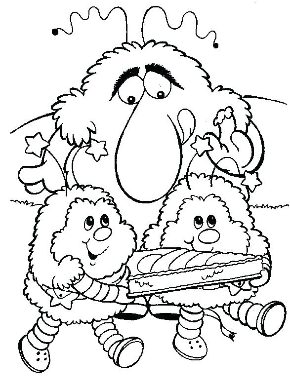 587x786 Rainbow Coloring Page Rainbow Coloring Pages Rainbow Coloring