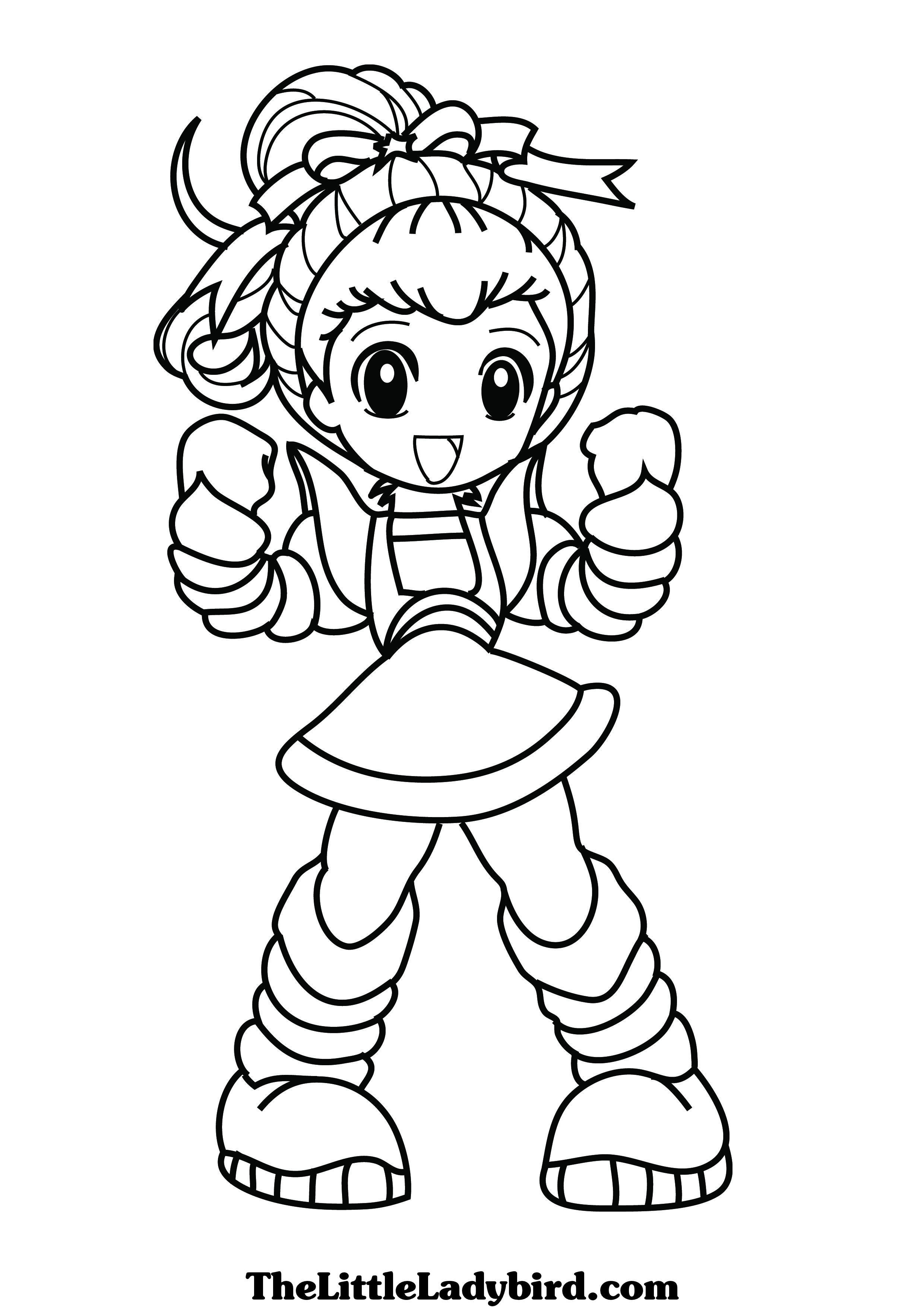 Rainbow Brite Coloring Pages At GetDrawings