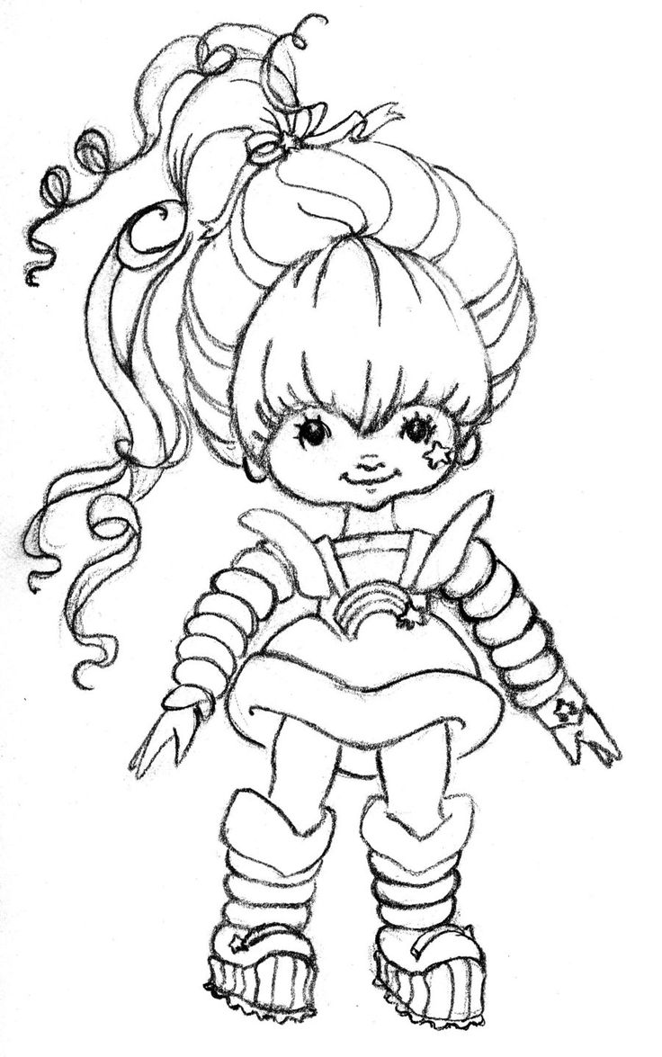 Rainbow Brite Coloring Pages at GetDrawings   Free download