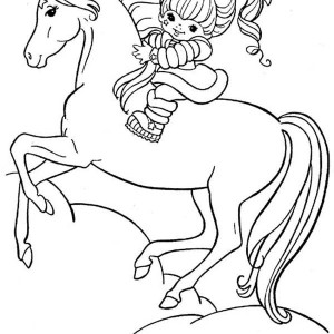 Rainbow Brite Coloring Pages At Getdrawings Com Free For Personal