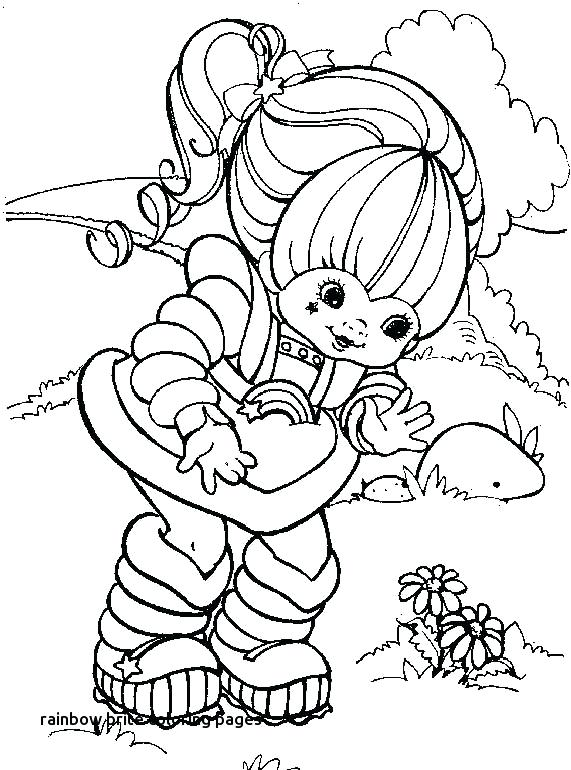 571x770 Rainbow Brite Coloring Page Rainbow Coloring Pages Rainbow Brite