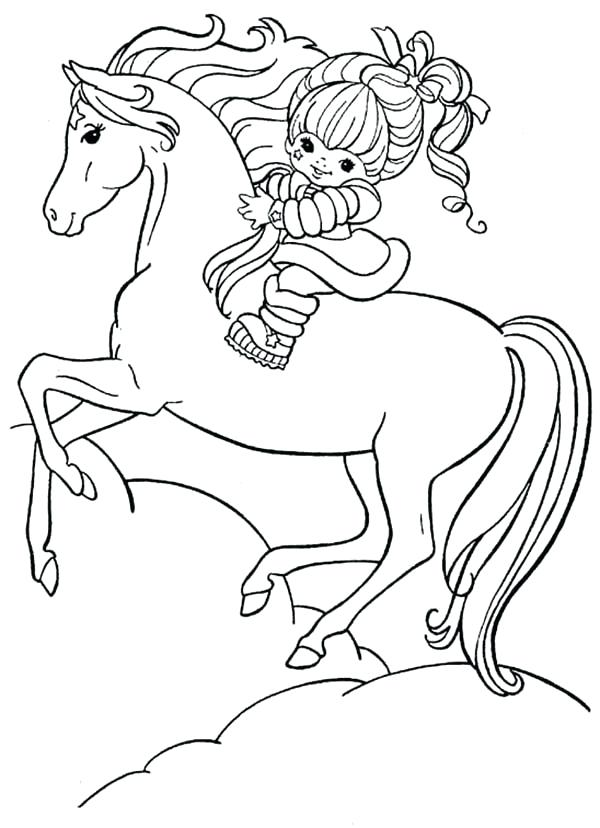 600x828 Rainbow Brite Coloring Pages Rainbow And Her Coloring Page Rainbow