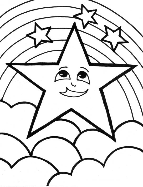 Rainbow Coloring Pages Printable At Getdrawings Com Free