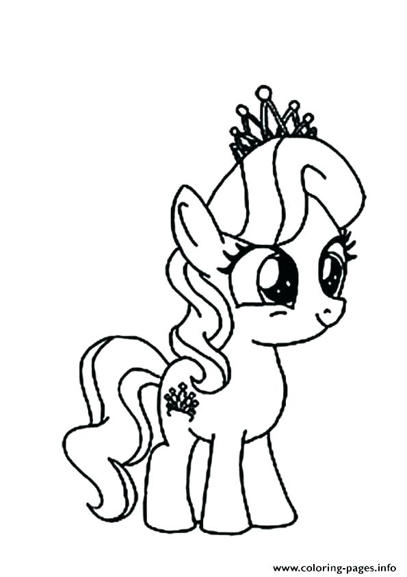 Rainbow Dash Pony Coloring Pages At Getdrawings Com Free