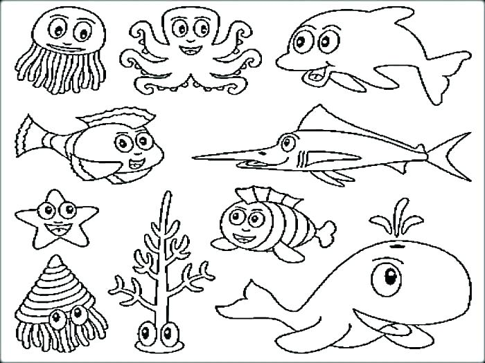 700x525 Printable Fish Coloring Pages Free Fish Coloring Pages Printable