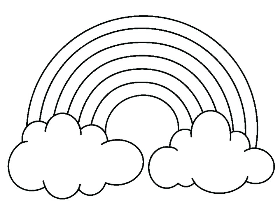 960x720 Pot Of Gold Coloring Page Pot Of Gold Coloring Page Rainbow