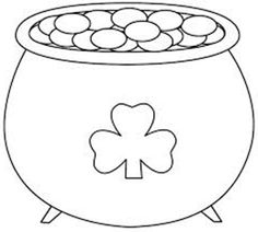 236x212 Rainbow Coloring Page Kids Dream Of Rainbows With Pots Of Gold