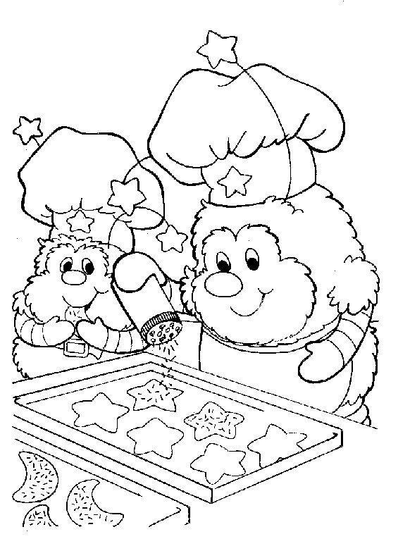 Rainbowbrite Coloring Pages