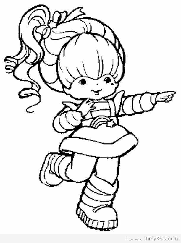 612x822 Rainbow Brite Coloring Pages