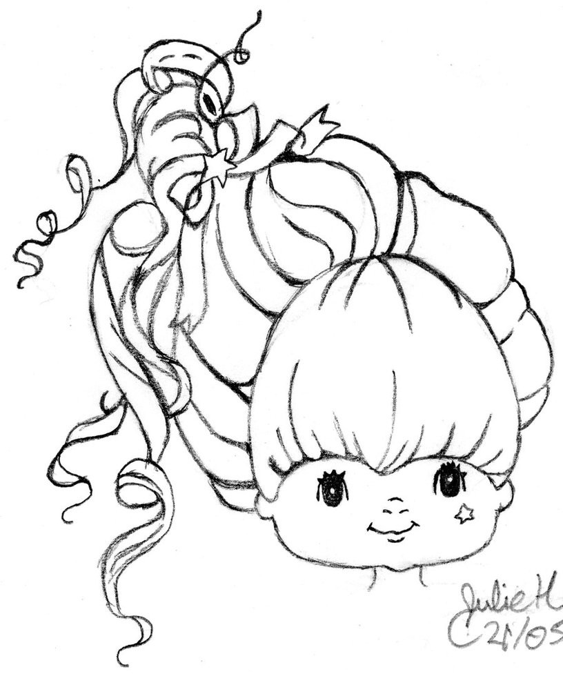 816x980 Rainbow Brite Coloring Pages Bestofcoloring Com Simple