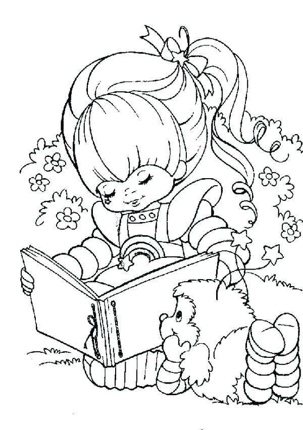 600x852 Rainbow Brite Coloring Pages Rainbow Coloring Page Printable