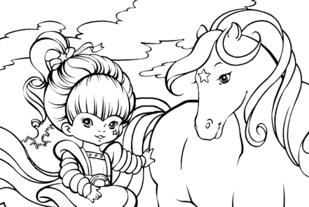 1024x688 Rainbow Brite Coloring Pages Rainbow Coloring Pages Colouring