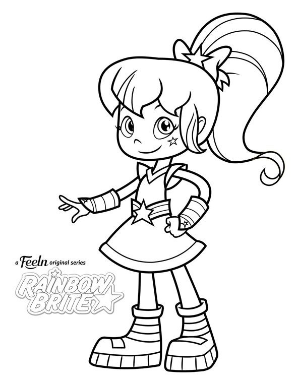 589x762 Rainbow Brite Free Coloring Pages Free