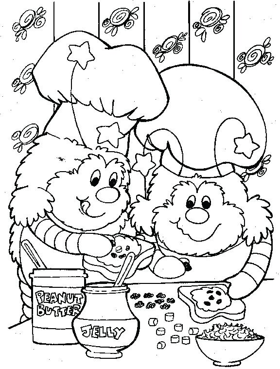 576x759 Rainbow Coloring Page Image Images Rainbow Brite Coloring Book