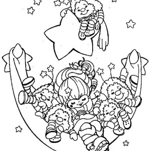 300x300 Twink And Romeo Cart Painting In Rainbow Brite Coloring Page