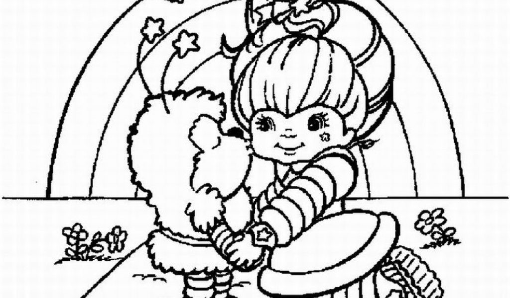 1024x600 Rainbow Brite Coloring Pages Timykids