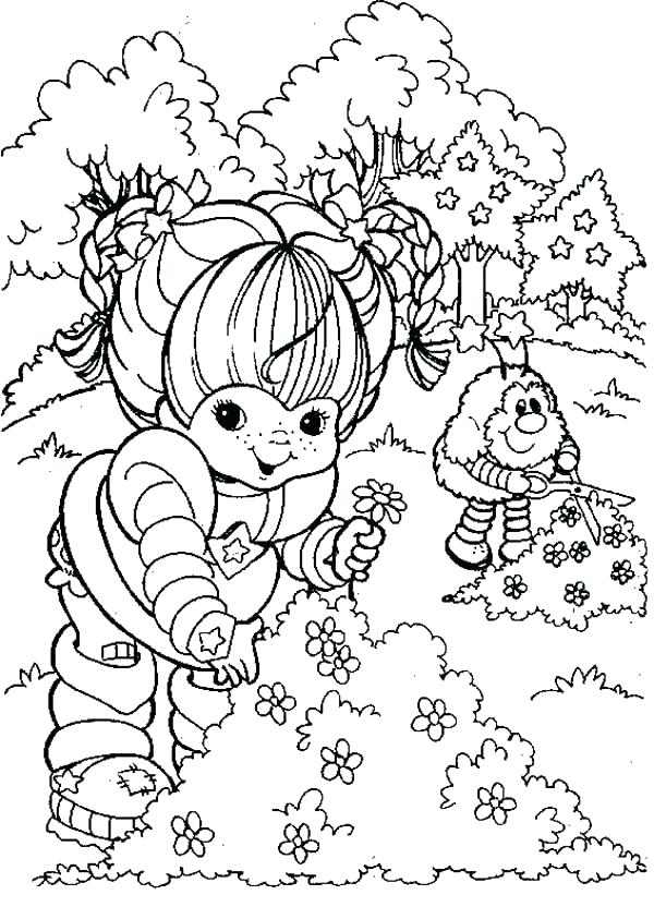 600x832 Rainbow Brite Coloring Pages