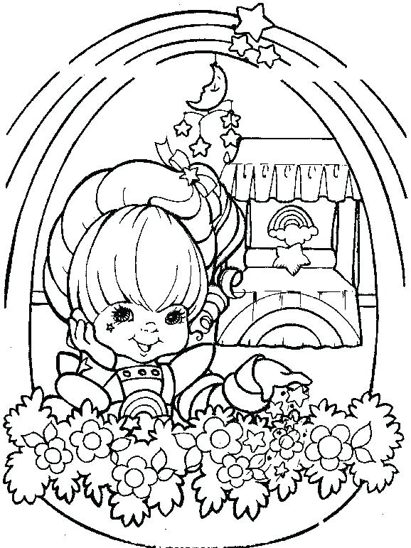 578x771 Remarkable Amazing Rainbow Brite Coloring Pages Fee Kids