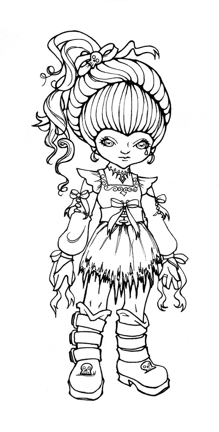 736x1449 Coloring Book Ren On Rainbow Brite Pages Coloring Pages Beautiful