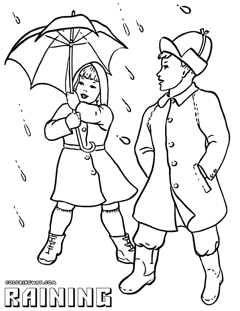 773x1000 Rain Coloring Page Beautiful Rain Coloring Pages Logo And Design