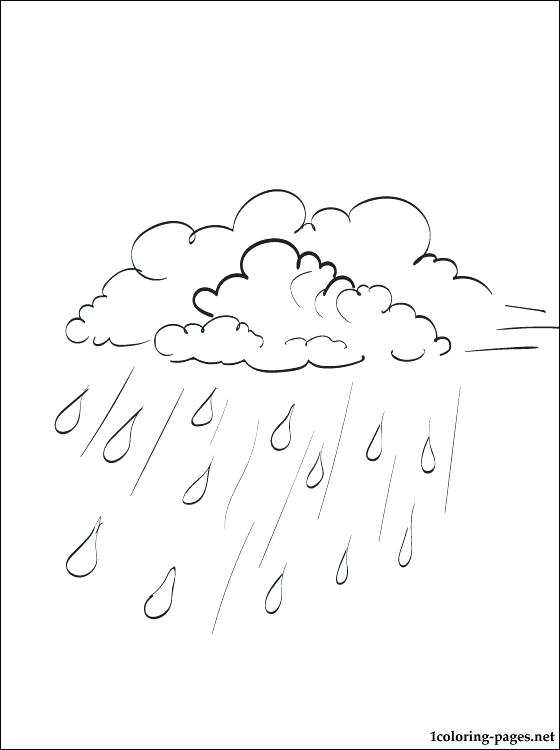 560x750 Rain Coloring Page Girl In Raincoat Coloring Page Brexitbook Club