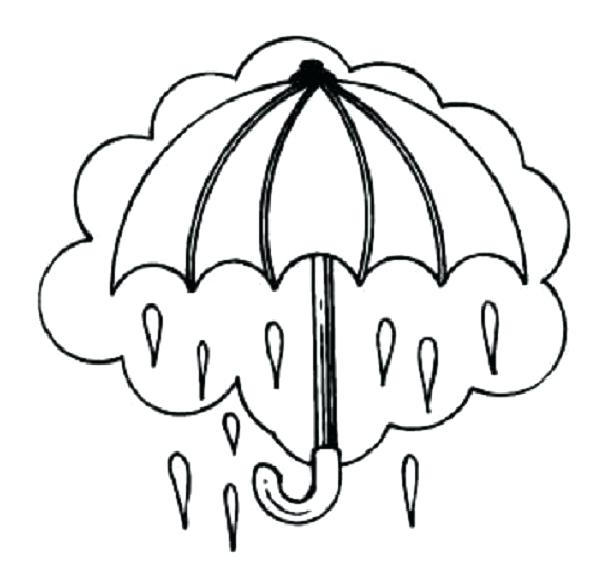 614x573 Rain Coloring Page Ra Colorg Raincoat Coloring Pages