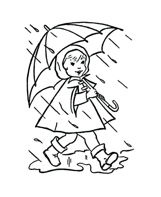 670x820 Rain Coloring Sheet Coloring Pages Weather Lightning Coloring