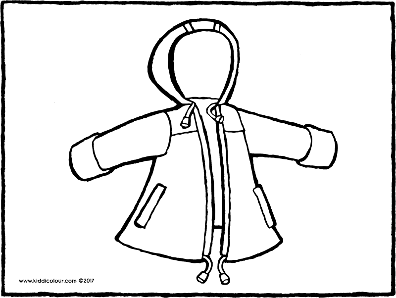 800x602 Clothes Colouring Pages