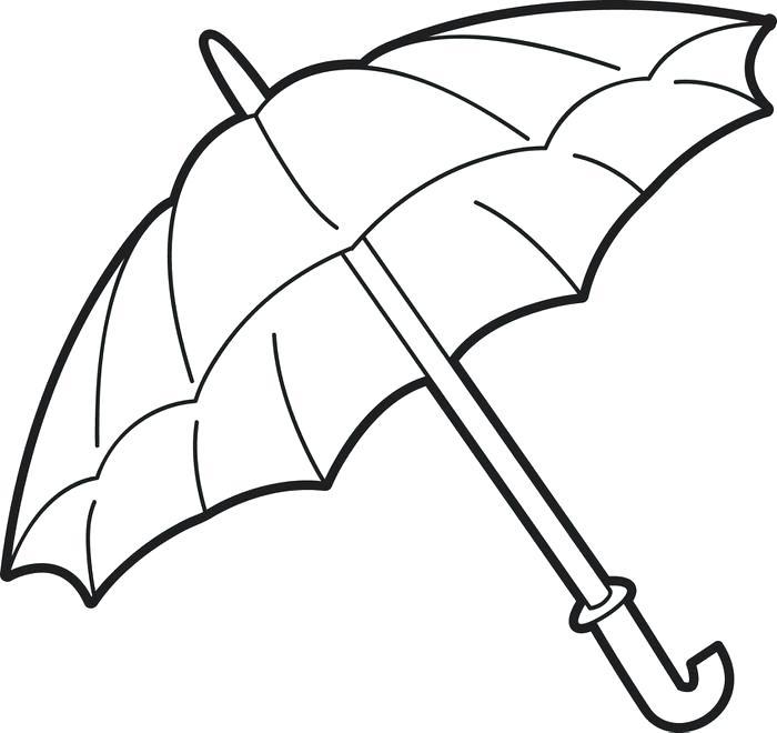 700x660 Rain Drop Coloring Page Umbrella Coloring Page Free Printable