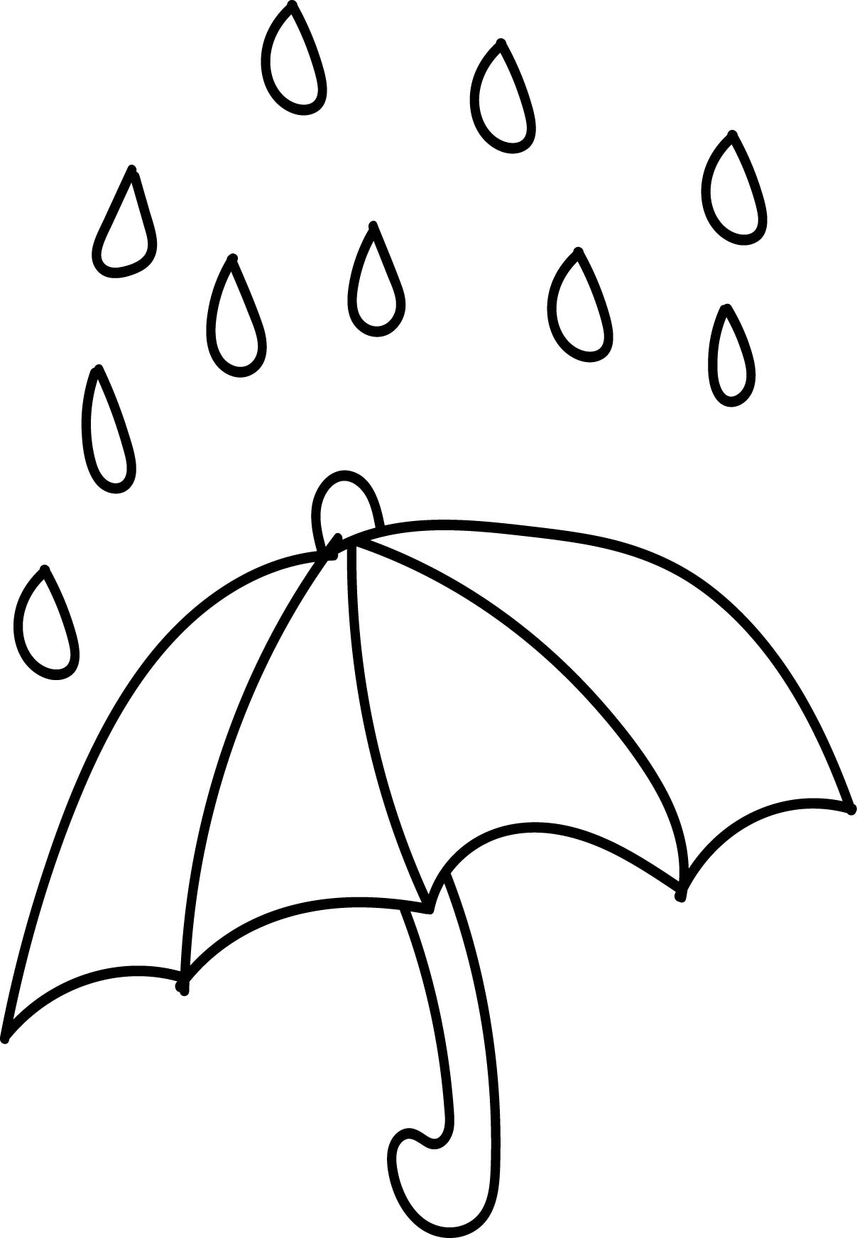 Raindrop Coloring Page At Getdrawings Com Free For Personal Use