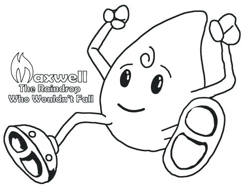 500x386 Raindrops Coloring Pages Raindrop Coloring Pages Buy The Book