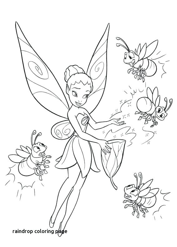 567x794 Raindrops Coloring Pages