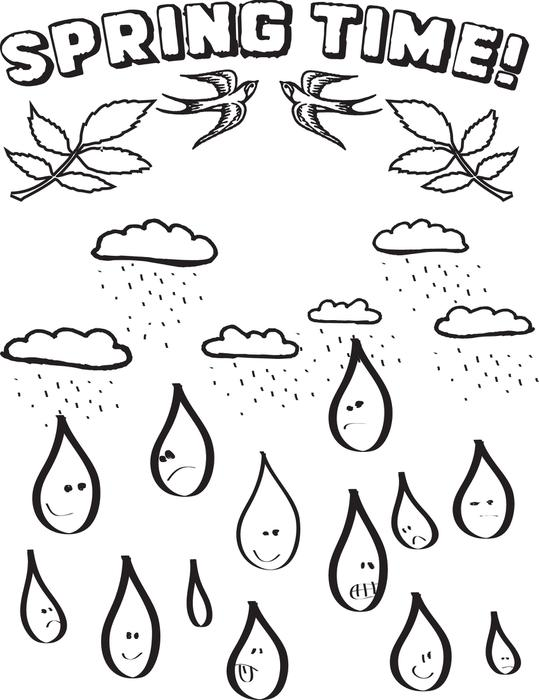 539x700 Coloring Free Coloring Pages Raindrops With Coloring Page