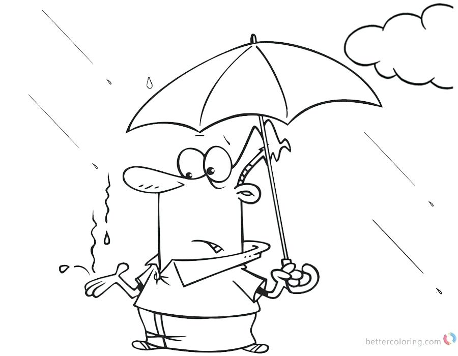 900x700 Printable Images Of Raindrops Kids Coloring Raindrop Coloring