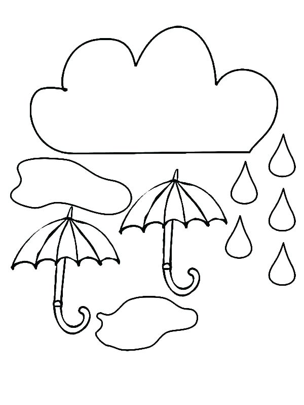 600x798 Rain Drop Coloring Page Best Of Raindrop Coloring Page Images