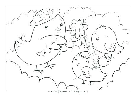 460x325 Tropical Bird Coloring Pages Birds Printable Coloring Pages Baby